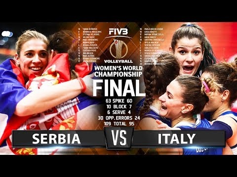 Serbia - Italy (Highlights)