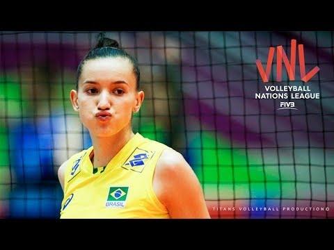 Gabriela Braga Guimaraes in VNL 2018