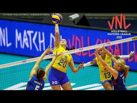 Ana Beatriz Correa in VNL 2018