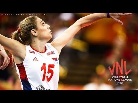 TOP 15 Crazy Actions by Jovana Stevanovic | Women's VNL 2018