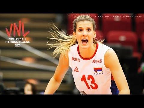 Ana Bjelica in VNL 2018