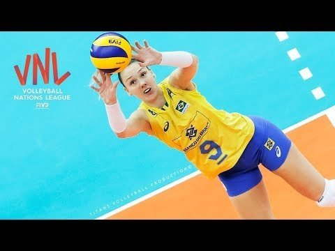 Roberta Silva Ratzke - BEST Volleyball SETS | VNL 2018