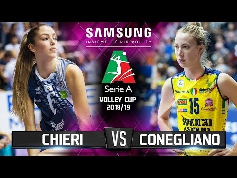 Reale Mutua Fenera Chieri - Imoco Conegliano (Highlights)