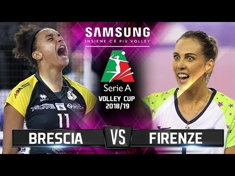 Banca V.M Brescia - Il Bisonte Firenze (Highlights)