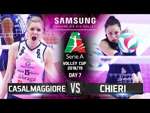 Pomi Casalmaggiore vs Reale Mutua Fenera Chieri (Highlights)