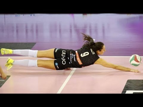 Amazing Volleyball Actions | DIGS - SAVES | LONG RALLY