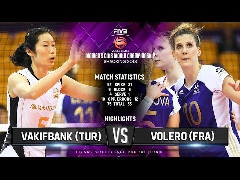 Vakifbank Istanbul - Volero Le Cannet (Highlights)