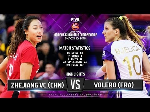 Zhejiang - Volero Le Cannet (Highlights)