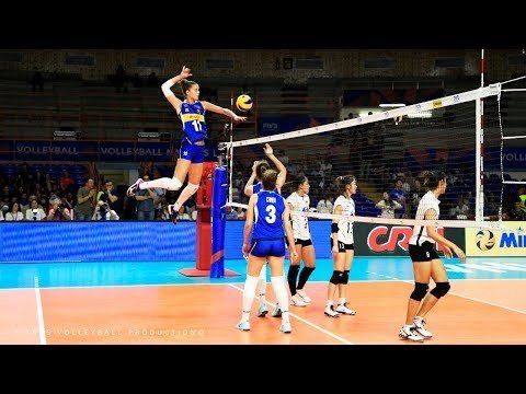 Best spikes in VNL 2018