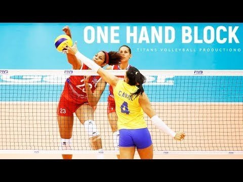 TOP 20 Best One-Hand Blocks in VNL 2018
