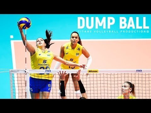 TOP 30 Volleyball Dump Ball in VNL 2018