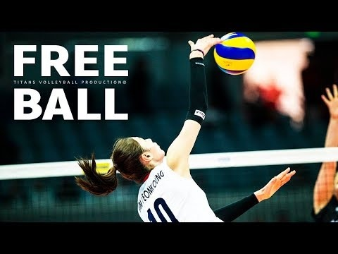 TOP 20 free balls in VNL 2018
