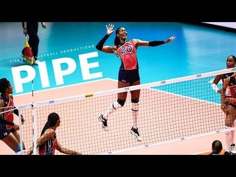 Top 50 volleyball pipes in VNL 2018