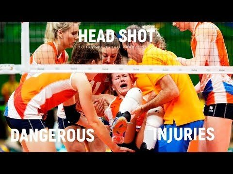 Volleyball is dangerous game