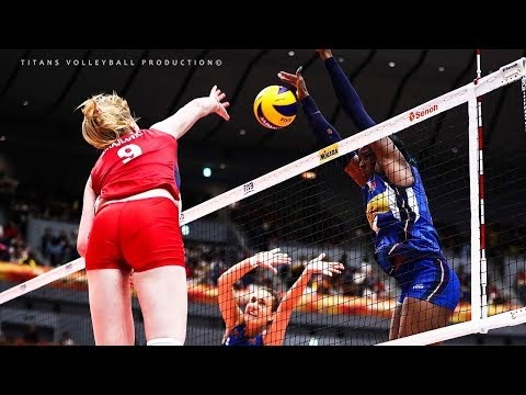 Top 30 1 vs1 Volleyball Blocks in VNL 2018