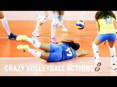 Best Women's Crazy Volleyball Actions №4 | VNL 2018