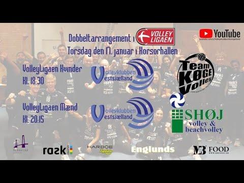 VK Vestsjælland. D1 - Team Køge Volley. H1 - Ishøj Volley