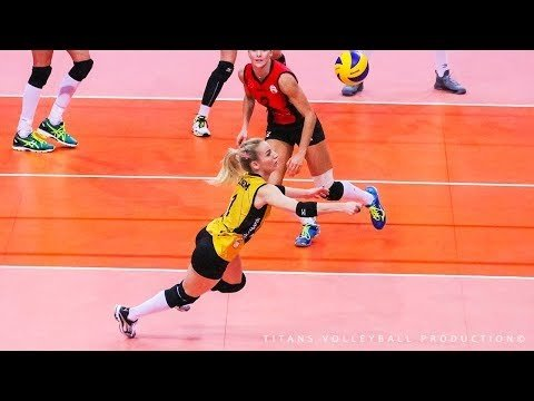 BEST Volleyball DIGS SAVES - HATICE GIZEM ORGE WCWC 2018