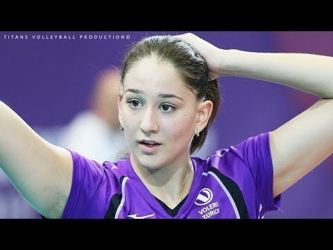 BEST Volleyball Moments by LAURA UNTERNAHRER | WCWC 2018