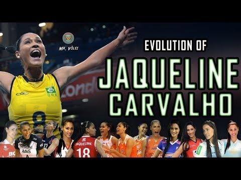 Evolution of Jaqueline Carvalho | (2001 - 2018)