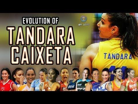 Evolution of Tandara Caixeta | (2007-2019)