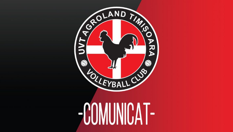 Bad news President UVT Agroland Timisoara  has decided to withdraw the team from Volleyball! :(