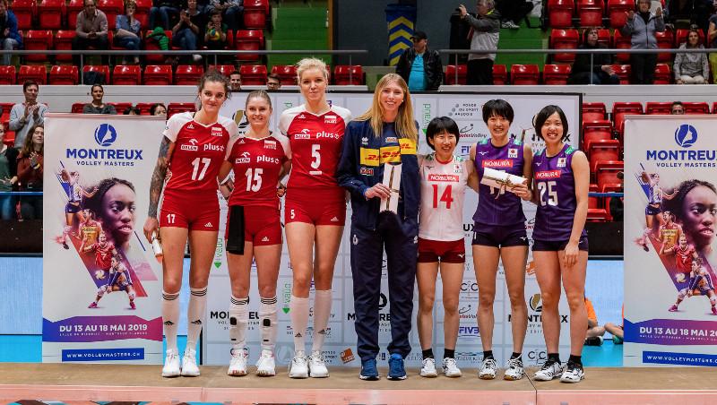 Montreux 2019 Women's Dream Team