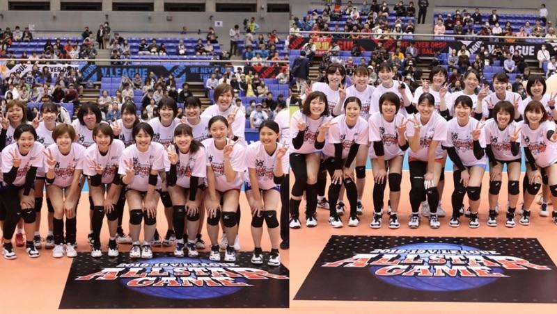 Japan V2 League 2019 All Star Team Chiba-kun beats Team V.Lea (w/Rosters)