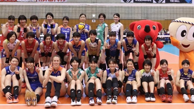 West beats East in Japan V.League 2019 All Star game (w/Rosters)