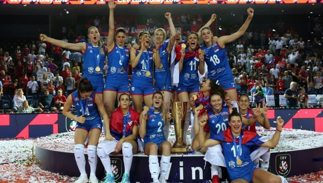 Serbia are the 2019 European Champions