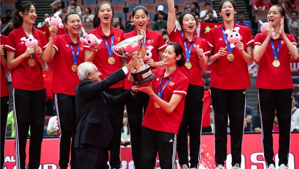CHINA CROWNED WORLD CUP CHAMPIONS ANEW