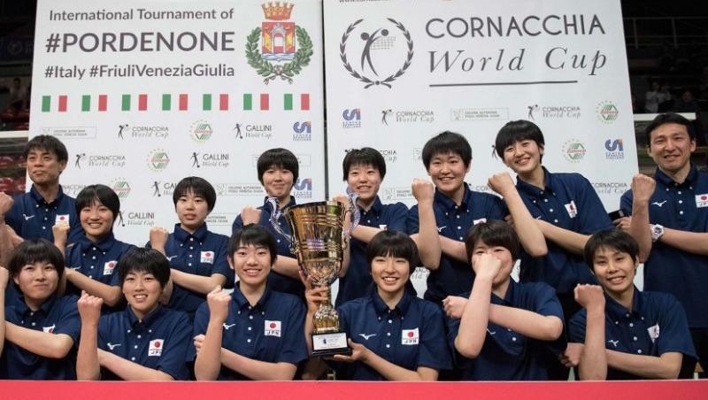 Japan U18 NT wins Gold in debut at 37th Cornacchia U19 World Cup