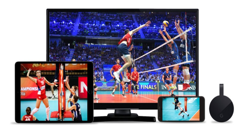 Volleyball TV broadcasts