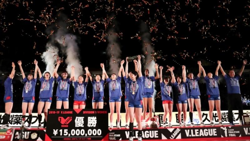 2018/19 Awards for Japan V.League Division 1, Women